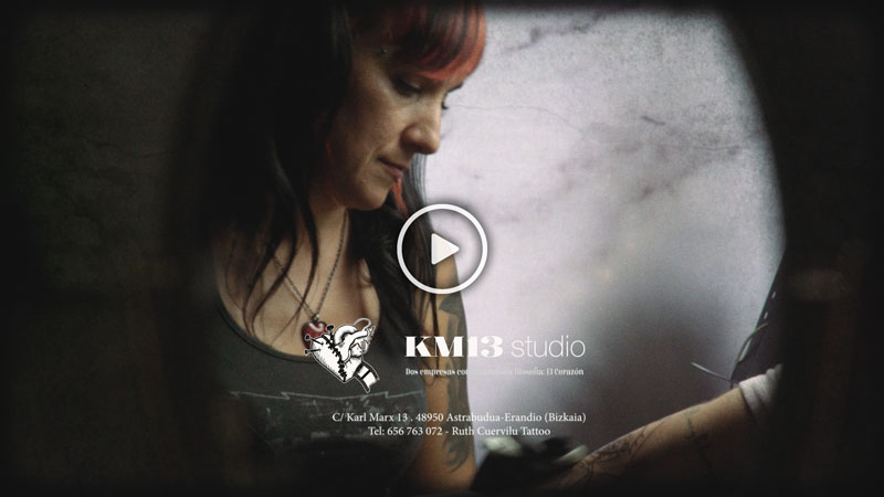 KM13 Studio – RUTH CUERVILU TATTOO – Kaneki Ken TRAILER