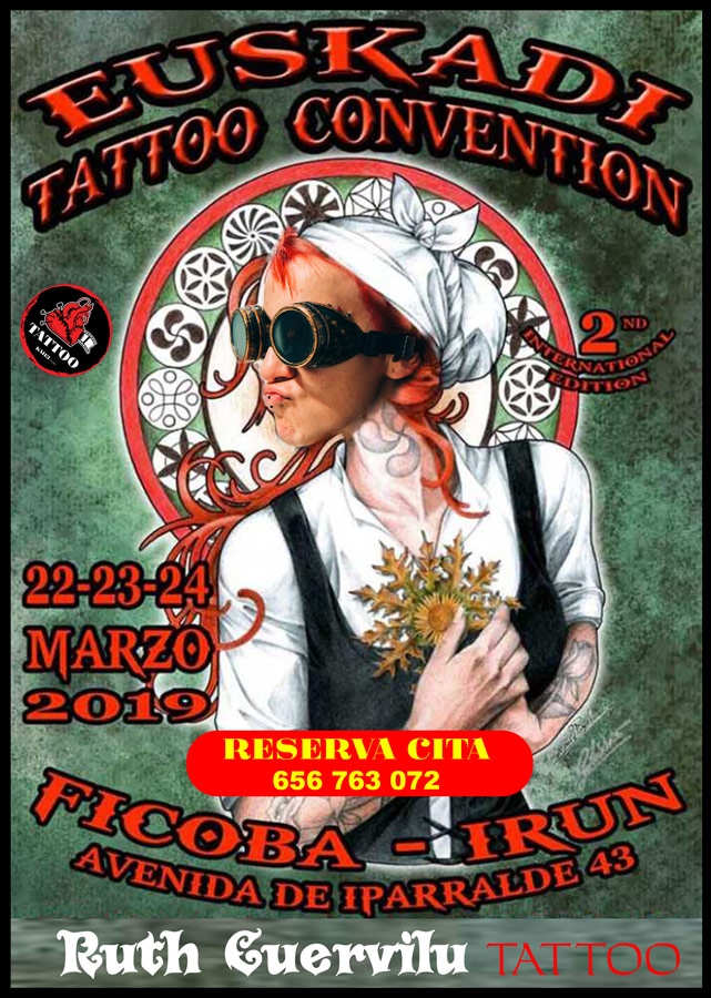 KM13 Studio – Ruth Cuervilu en Euskadi Tattoo Convention