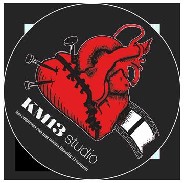 KM13 studio - logo circular
