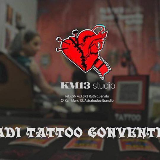 ruth cuervilu tattoo - km13 studio - euskadi tattoo convention 2019