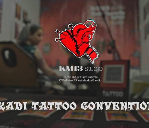 ruth cuervilu tattoo - km13 studio - euskadi tattoo convention 2019