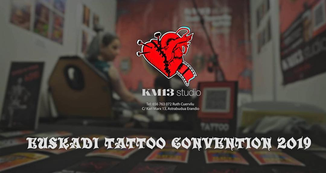 Ruth Cuervilu en Euskadi Tattoo Convention – KM13 Studio