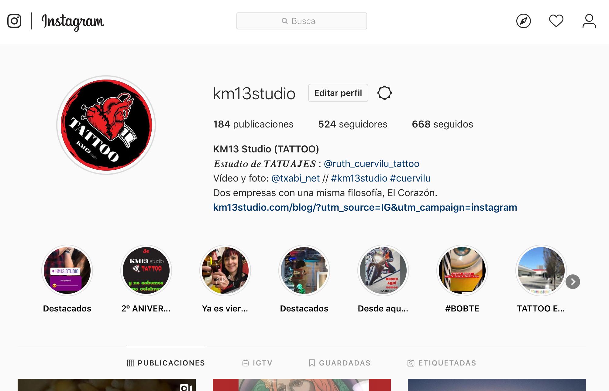 ¡ Estamos en Instagram !