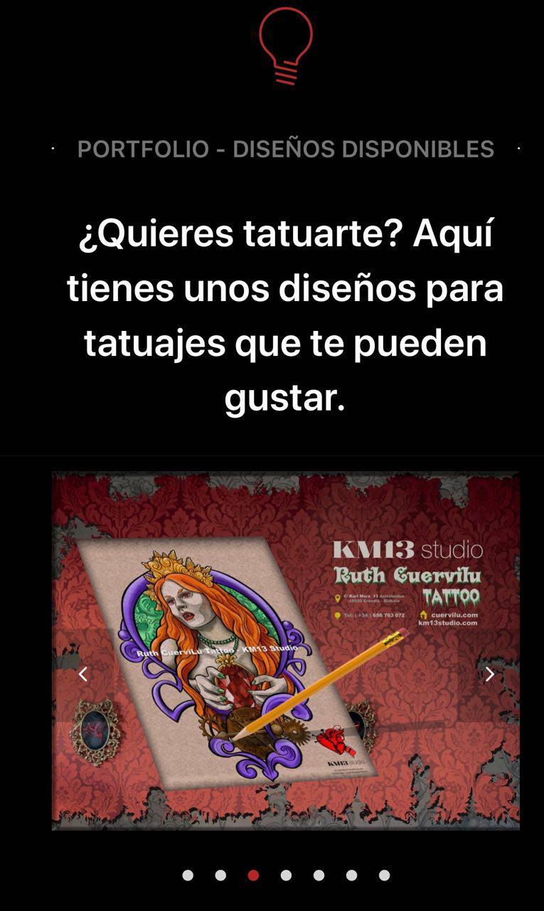 Tatuajes – Diseños disponibles de  Ruth Cuervilu Tattoo – KM13 Studio. Astrabudua, Bizkaia