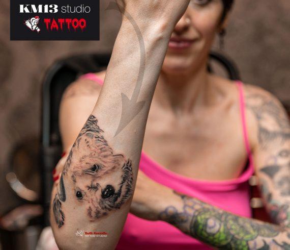 Amaia. Ganadora de concurso que hicimos para celebrar el 2º aniversario de KM13 Studio. - Ruth Cuervilu Tattoo - Estudio de tatuajes en Astrabudua erandio bizkaia bilbao.