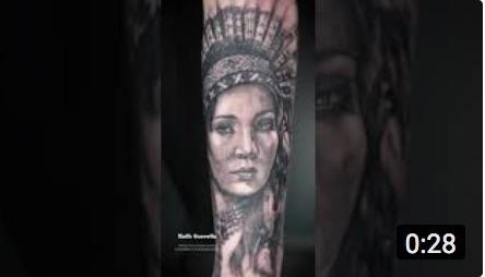 Tatuando Realismo – India Finalizado – Ruth Cuervilu Tattoo – KM13 Studio