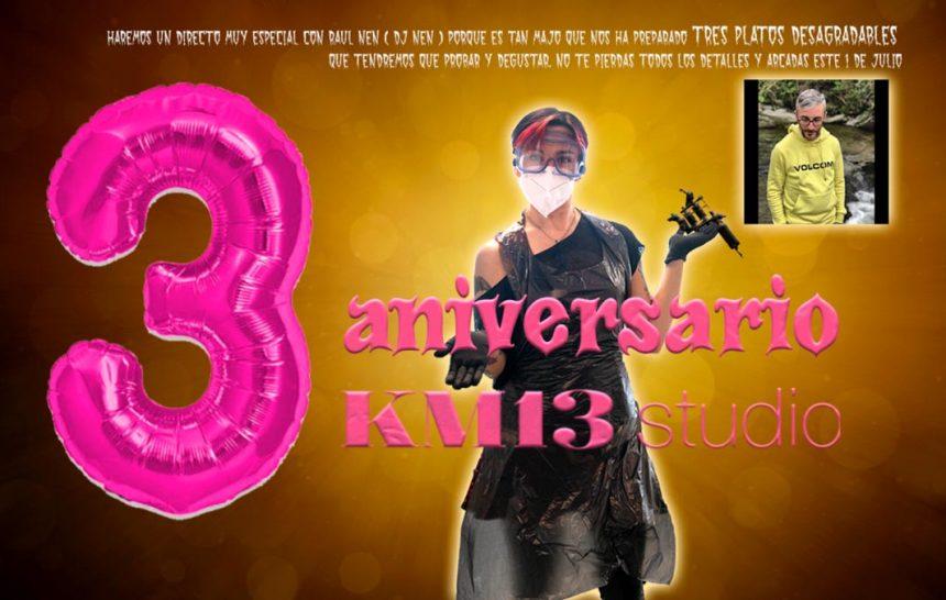 ¡ 3º aniversario de KM13 Studio : Comida desagradable, bingo y un premio !