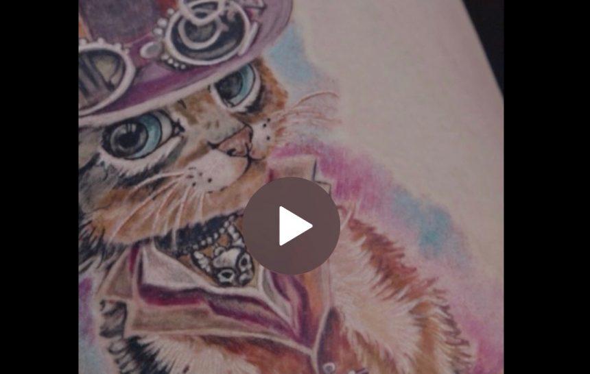 Vídeos de Ruth Cuervilu tatuando