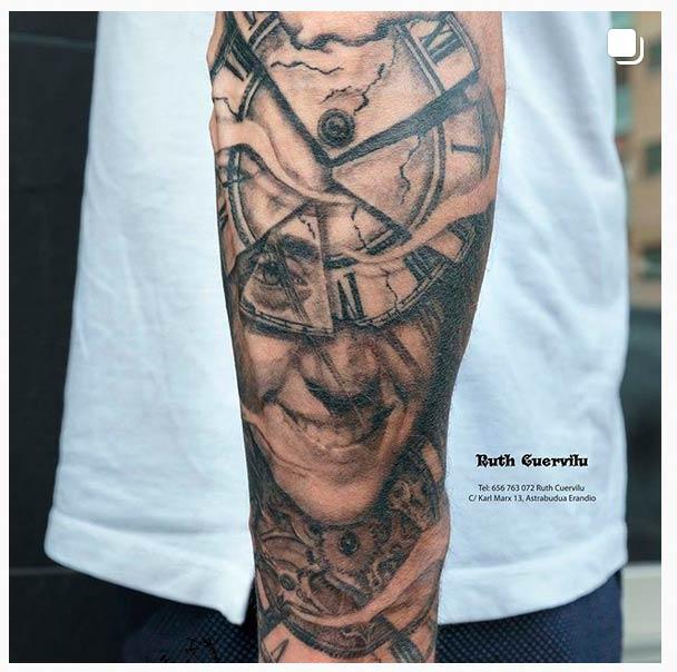 Estos tatuajes ya están curados