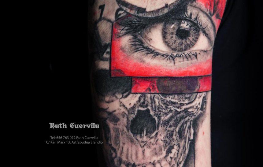 Tatuajes que ha hecho Ruth Cuervilu tattoo recientemente