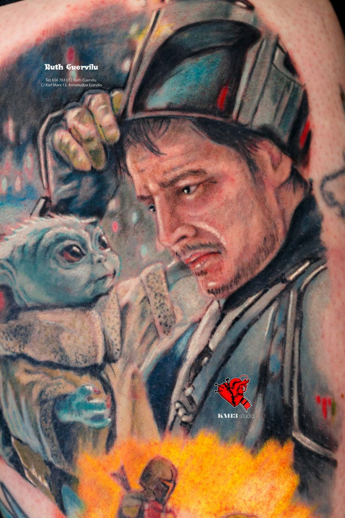 Tatuajes en Realismo o Ilustración por Ruth Cuervilu Tattoo en KM13 Studio