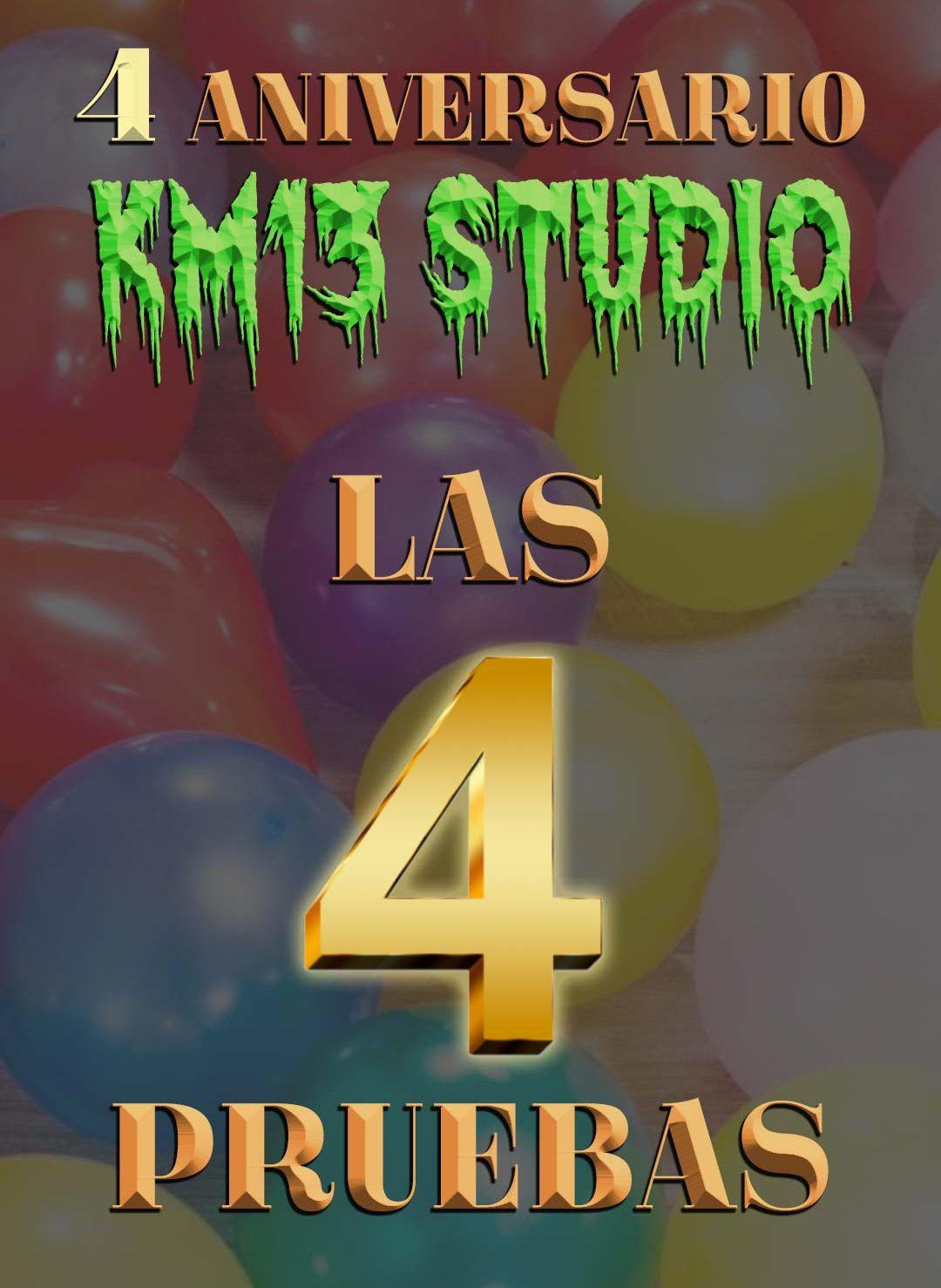 4 aniversario de km13 studio